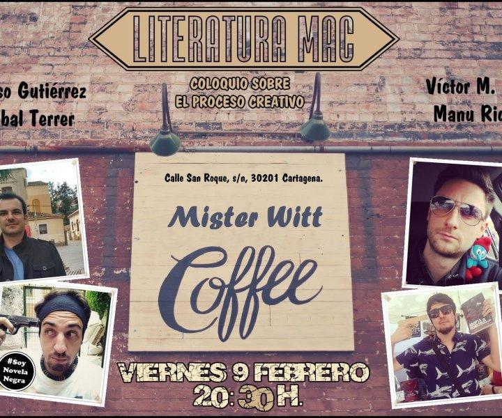 Cartel oficial acto EQUIPO MAC en Mister Witt