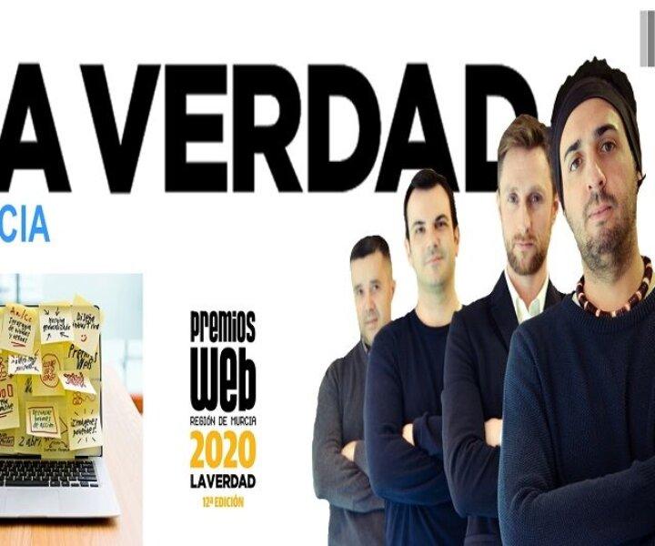 Foto promo de los premios Web de La verdad